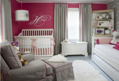 Contemporary Baby Girl Nursery Picture Gallery