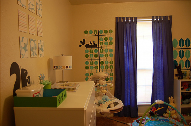 Nursery with cute kids wall art.PNG