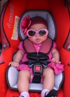 Cute and funny baby girl picture_I am ready to go mommy.PNG