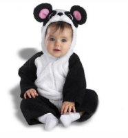 Infant panda halloween costume_cute animal baby halloween costume pictures.PNG