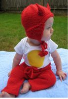 Very cute devil baby costume for halloween.PNG