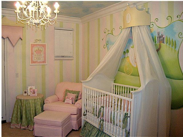 Baby Nursery Ideas With Princess Theme Png