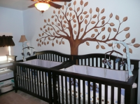 Boy twins nursery with big tree mural.PNG