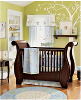 Elegant contemporaty nursery with tree mural.PNG