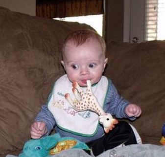 Who needs pacifier when I have my Sophie teether.PNG