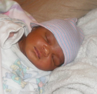 Sleeping African American baby picture.PNG