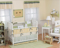 Honey bee themed nursery for both boy or girl baby.PNG