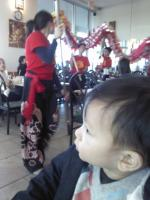 Darwin the 17 month old toddler watches a Chinese dragon dance.jpg