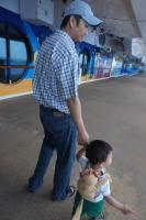 Darwin holds Daddy's hand aboard the Norwegian Dawn.jpg