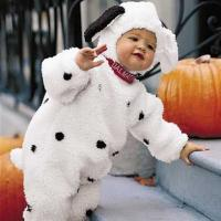 Cute black and white dog baby custome.jpg