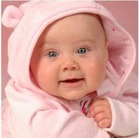 cute baby girl in light pink outfit.JPG