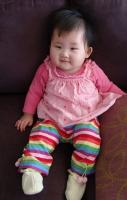 Pretty Asian baby girl posting for the camera.JPG