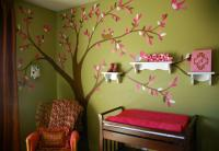 Beautiful tree wall decal perfect for pretty chic girl nursery.JPG
