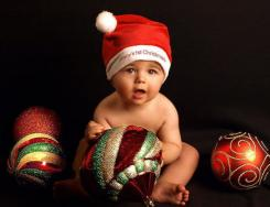 Baby first Christmas photo shoot ideas pictures.JPG