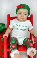 Adorable baby girl Christmas outfit pictures.JPG
