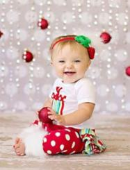 Baby girl holidays photo shoot tips for professional photo shoot ideas.JPG