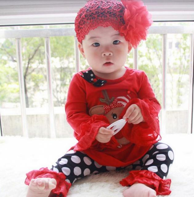 Super cute Asian baby girl in her Christmas outfit with beautiful Christmas accessories.JPG
