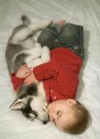 Cute baby and dog picture sleeping next to each other.JPG