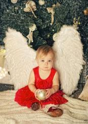 Creative Baby Christmas photo shoot picture