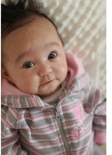 cute Asian baby girl looking up to the camera.jpg