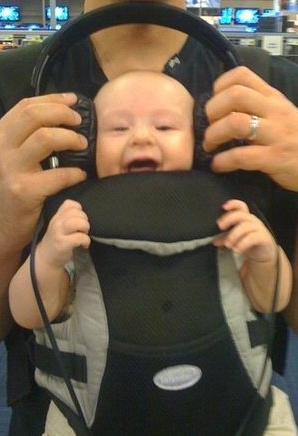Funny baby picture with headphones.PNG