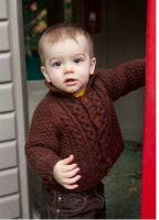 Sweet toddler in his pretty brown sweater.PNG